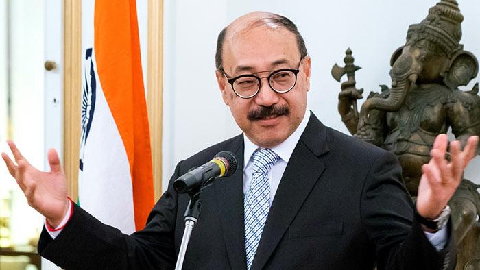 Indian Foreign Secretary Harsh Vardhan Shringla