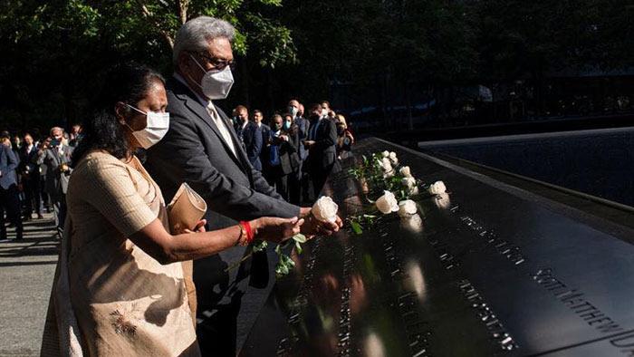 Sri Lanka President Gotabaya Rajapaksa in New York