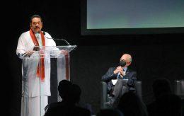 Sri Lanka Prime Minister at G20 interfaith forum in Bologna Italy