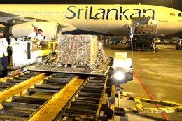 Stock of Nano Nitrogen liquid fertilizer reached Sri Lanka from India